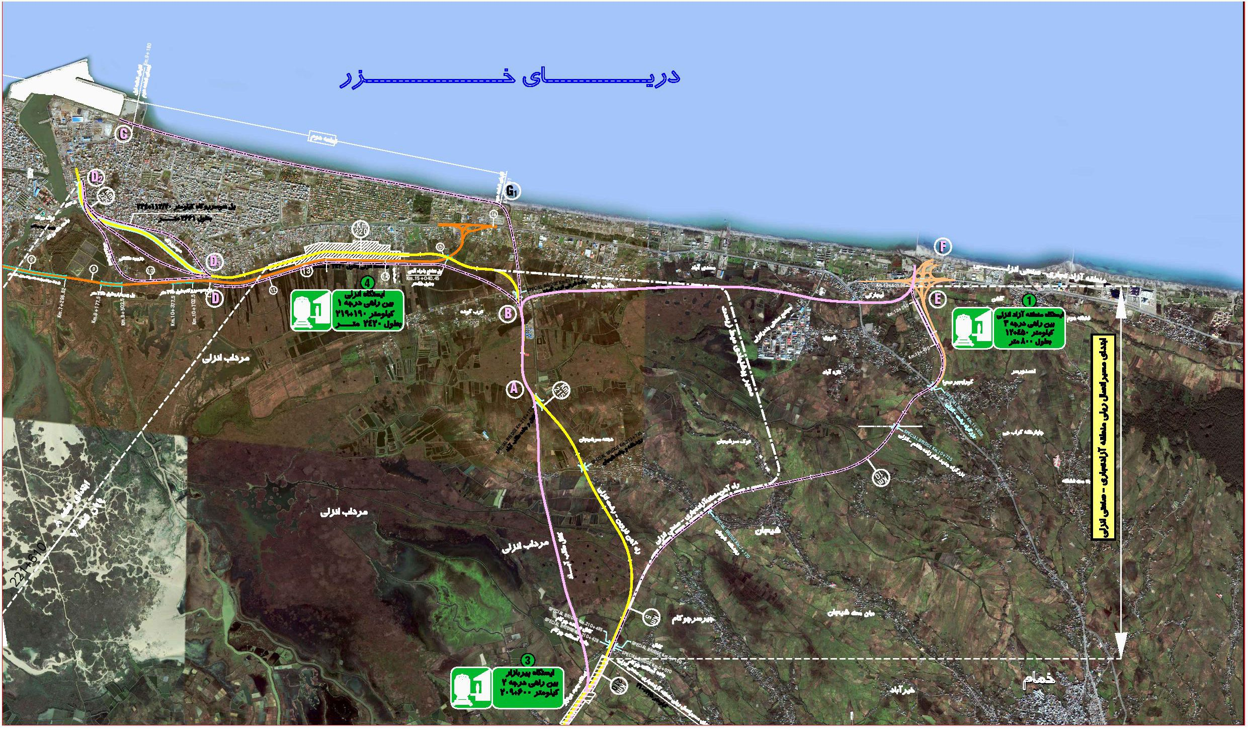 چالش های ناتمام اجرای پروژه ی راه آهن رشت – انزلی