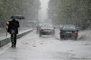 برف و سرما در راه گیلان