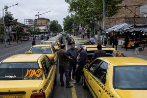 تاکسی-های-خیابان-سعدی